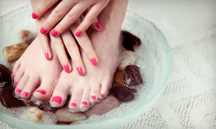 Ravished Beauties - Auburn: One or Two Mani-Pedis at Ravished Beauties (Up to 55% Off)
