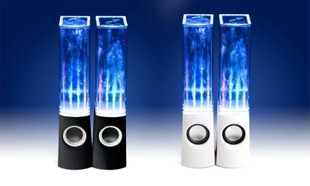 Lot de 2 enceintes Splash avec éclairage LED