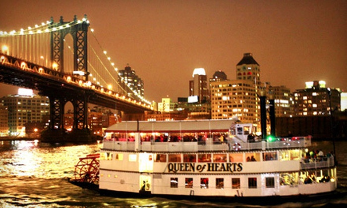 Affairs Afloat - New York: Evening Dance-Party Cruise on the Hudson River for 1, 2, 4, or 10 People from Affairs Afloat (Up to 70% Off)