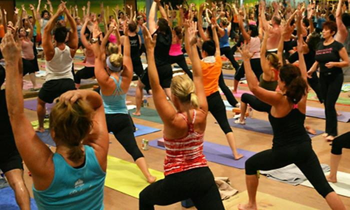 Samatone Yoga by DPYP! - Addison - North Dallas: Yoga Classes atSamatone Yoga by DPYP!(Up to 77% Off). Three Options Available.