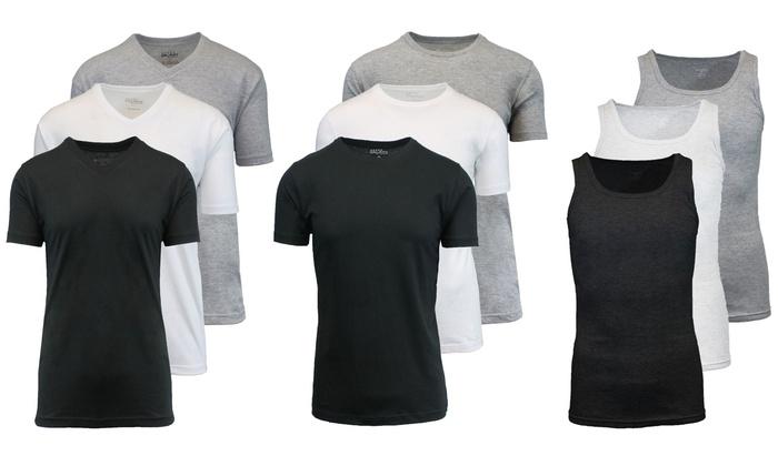 Galaxy by Harvic Men's Knit Undershirts (3-Pack)