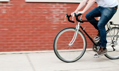image for Basic or Deluxe Bike Tune-Up at Sprocketts Recycled Bicycles (48% Off)