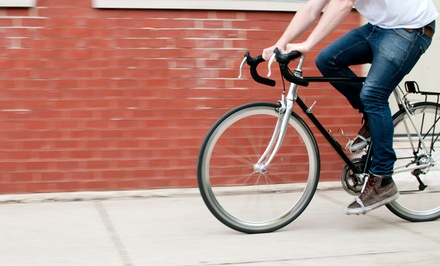 Basic or Deluxe Bike Tune-Up at Sprocketts Recycled Bicycles (48% Off)