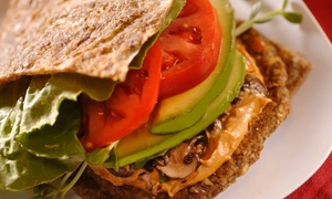 Green Wave Cafe: $21 for $30 Worth of Raw-Vegan Cuisine at Green Wave Cafe