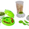 Salad To-Go Travel Containers (1-, 2-, or 3-Pack)