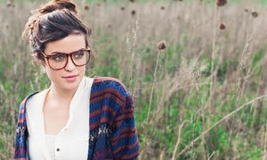 Purba Vision: CC$19 for C$175 Worth of Prescription Eyeglasses and a C$25 Gift Card at Purba Vision (CC$175 Value)