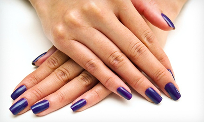 Candy Nailz - Grand Rapids: Shellac Manicure with Option for Spa Pedicure at Candy Nailz (51% Off)
