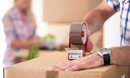 Two or Three Hours of Moving Services with Two Movers and Supplies from Lubbock Moving (Up to 55% Off)