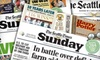 """""""The Seattle Times"""" – 76% Off Sunday Subscription"""