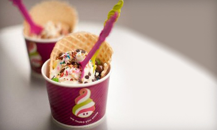 Menchie's - Multiple Locations: Self-Serve Frozen Yogurt at Menchie's (Half Off). Two Options Available.