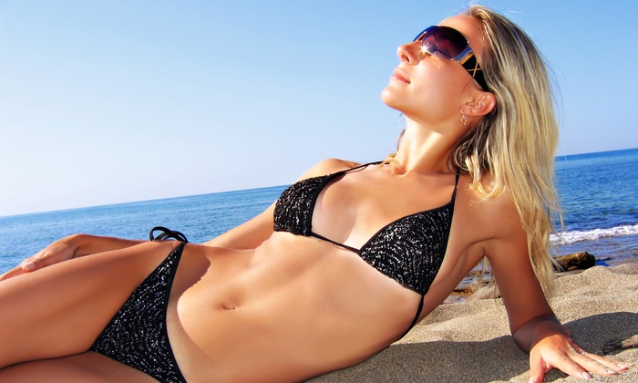Beaute Marque - April Stocks - Millcreek: One or Three Custom Spray Tans from April Stocks at Beaute Marque (Up to 57% Off)