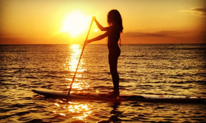 SUP Englewood - Englewood: Two-Hour Paddleboarding Lesson and Rental or 90-Minute Paddleboard Tour by SUP Englewood (Half Off)