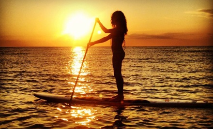 Two-Hour Paddleboarding Lesson and Rental or 90-Minute Paddleboard Tour by SUP Englewood (Half Off)