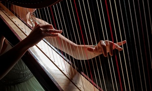 Gliss Maidens: One-, Two-, or Three-Hour Harpist Performance for a Private Event from Gliss Maidens (Up to 54% Off)