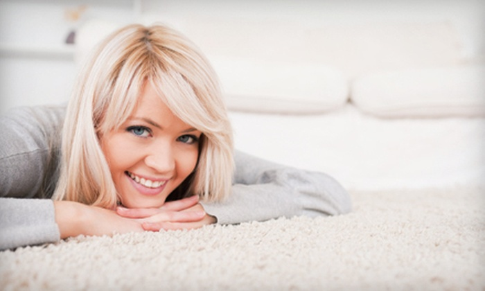 A-1 Restoration - Northwest Oklahoma City: $45 for Carpet Cleaning for Up to Three Rooms (Up to $99 Value)