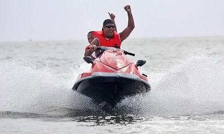 $89 for a Jet-Ski Rental and Paddleboard Rental for Two at Great White Water Sports ($149 Value)