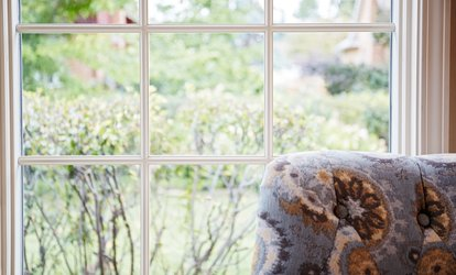 Exterior and Interior Windowpane <strong>Cleaning</strong> from Friends and Family Window <strong>Cleaning</strong> (Up to 57% Off)