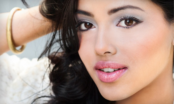 Miracolo Hair Studio - Doylestown: Makeup Application for Eyes and Lips or Full Face at Miracolo Hair Studio (Up to 57% Off)
