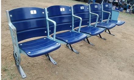 Dallas: One, Two, or Three Texas Stadium Seats from The Cowboy House (Up to 59% Off)