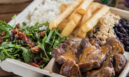 Brazilian Meal + Soft Drink for 1 ($13.50) or 2 People ($27) at Brazilian Flame Meats and Barbeque (Up to $42 Value)