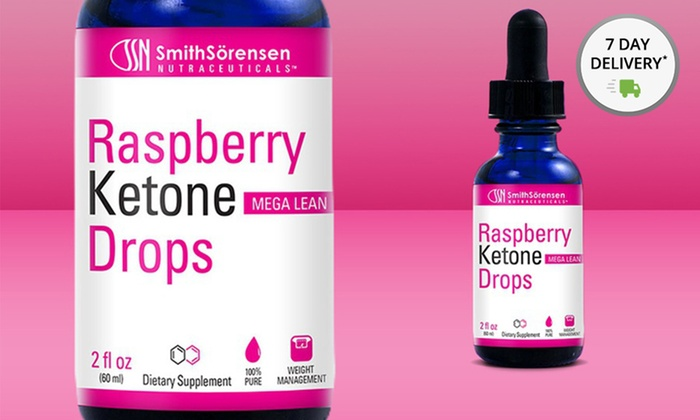 Buy 2 Get 1 Free: Raspberry Ketone Drops: 1 Bottle of Raspberry Ketone Drops by Smith Sorensen NutraCeuticals or 2 Bottles with 1 Free