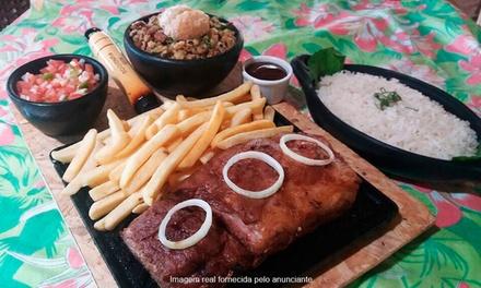 Casa do Cerrado – Lago Norte:costelinha de porco, carne de sol ou picanha + acompanhamentos para 2 pessoas