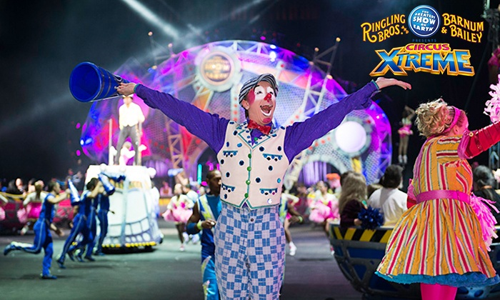 "Ringling Bros. and Barnum & Bailey: Circus Xtreme - Multiple Locations: Ringling Bros. and Barnum & Bailey: ""Circus Xtreme"", August 13–27 (Up to 29% Off)"