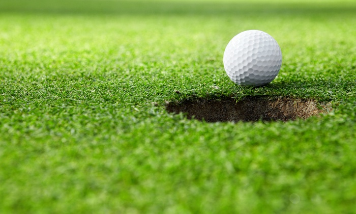 Doc's Golf Centre - Penticton: 9 Holes of Pitch-and-Putt Golf for 2 or 4, or 10-Bucket Flex Pass at Doc's Golf Centre (Up to 50% Off)