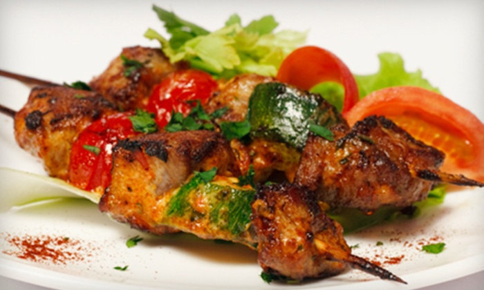 Nar Mediterranean Grill - Quadrangle: Mediterranean Meal for Two or Four at Nar Mediterranean Grill (53% Off)