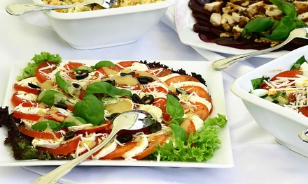 Greek and Lebanese Food for Two or Four at Taza Grill (Up to 48% Off)