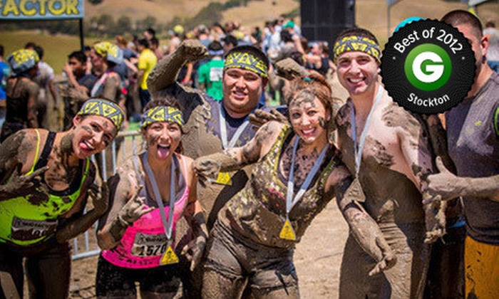 Mud Factor - Rancho Cordova: $ 29 for Entry to 5K-Obstacle-Course Mud Run from Mud Factor at Sacramento Raceway on Saturday, April 6 ($ 65 Value)