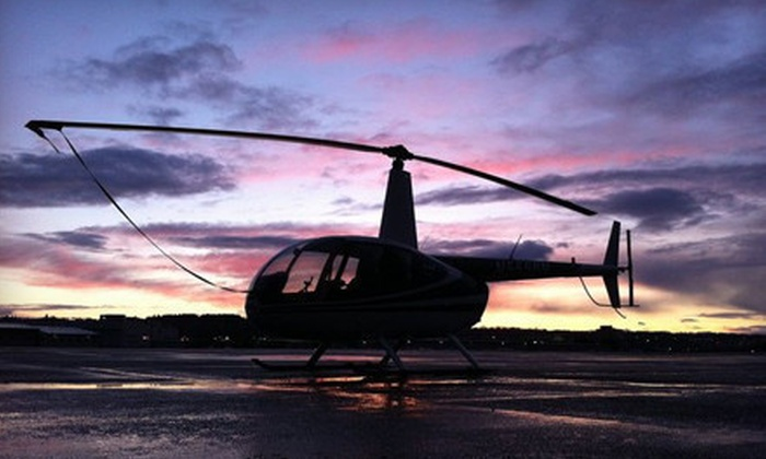 Helicopters Northwest - Georgetown: $135 for a Private Seattle Helicopter Tour for Up to Three People from Helicopters Northwest (Up to $270 Value)