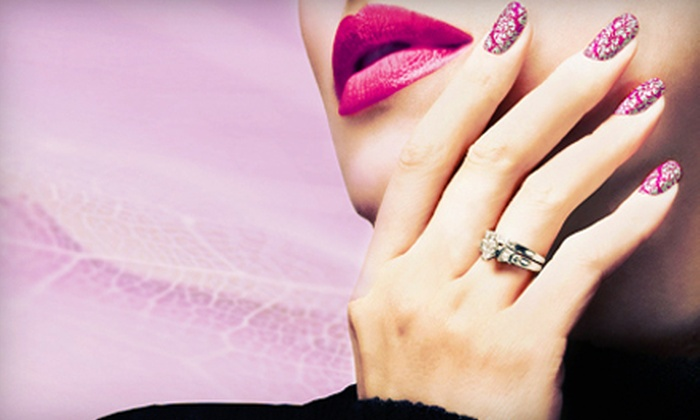 Cecilia Aviles at Bewitched Nails Nail Salon - Dobson Woods: $29 for a Classic Manicure and Deluxe Pedicure with Cecilia Aviles at Bewitched Nails Nail Salon ($75 Value)