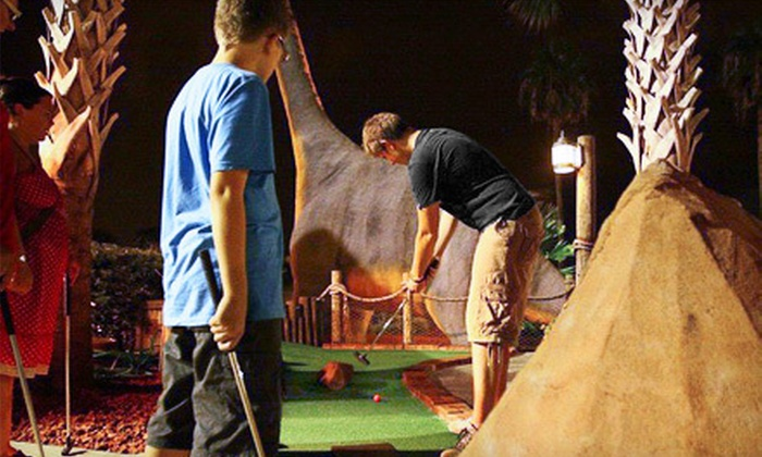 Volcano Island Miniature Golf - Southwest Orange: Mini-Golf Outing for Two or Four at Volcano Island Miniature Golf (Up to 63% Off)