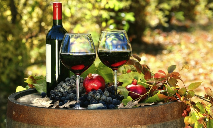 Spring Wine Festival - Spring : Entry and Wineglasses for Two, Four, Six, or Eight to Autumn Art & Texas Wine Festival October 11–12 (50% Off)