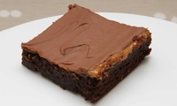 Brownies with Drinks for Two or Four at The Brownie Bar (Up to 54% Off)