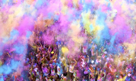 $29 for Color Me Rad 5K Entry on Saturday, October 4 at Camp Korey at Carnation Farm (Up to $55 Value)