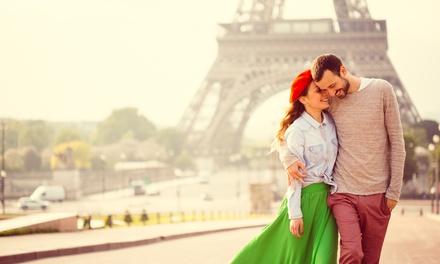Séance photo devant la Tour Eiffel