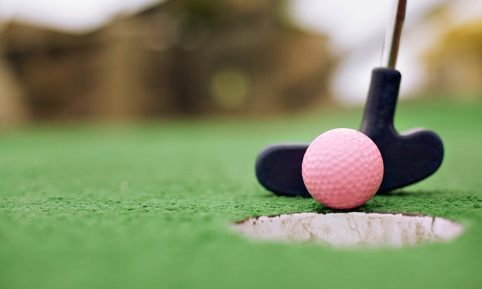 Adventure Village - Confederation Park: C$11 for an 18-Hole Round of Miniature Golf for Two at Adventure Village (Up to C$22 Value)