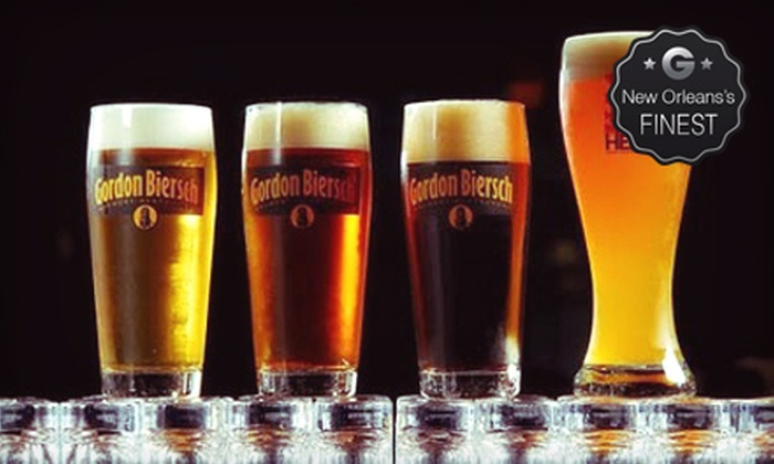 Gordon Biersch - Central Business District: $15 for $30 Worth of Upscale American Cuisine and Handcrafted Beer at Gordon Biersch