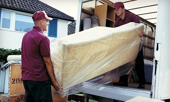 1st Class Moving - Cordova the Town Homeowners Association: Two or Four Hours of Moving Services 1st Class Moving (Up to 53% Off)