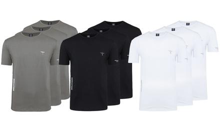 Pack de 3 T-shirts de la marque Aeronautica Militare pour Homme