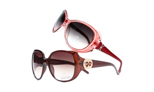 MK Belted Collection Women's Summer Fashion Sunglasses