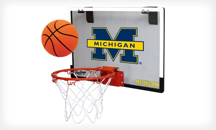 NCAA Polycarbonate Hoop Set: $29.99 for an NCAA Polycarbonate Hoop Set ($45.98 List Price). Free Shipping and Free Returns.