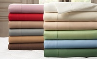 GROUPON: Milano Collection Microfiber Sheet Set Milano Collection Microfiber Sheet Set