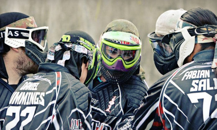 Allstar Paintball - Downtown Colorado Springs: $29 for an All-Day Paintball Adventure for Two at Allstar Paintball ($59.90 Value)