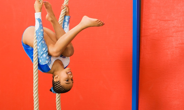 Elite Gymnastics Academy - T.O. Smith: One Month of Open-Gym Time for Two or Four Kids Aged 12 or Older at Elite Gymnastics Academy (Up to 66% Off)