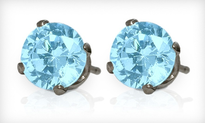 Elite Jewels: $19 for a Pair of Swarovski Elements Crystal Stud Earrings from Elite Jewels ($59.95 Value)