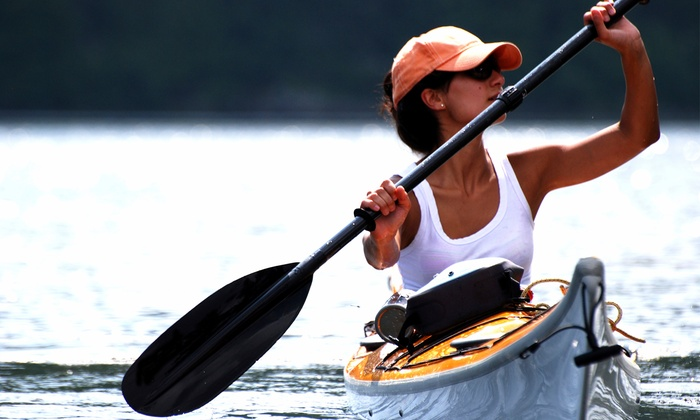 KYSC Boat House - Waleska: Introductory Kayak Lesson with a Two-Hour Rental for One or Two at KYSC Boat House (Up to 48% Off)