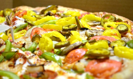 $12 for Two Groupons, Each Good for $10 Worth of Food at Panoony's Pizza and Wings ($20 Total Value)
